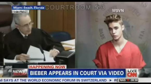 Justin Bieber u soudu