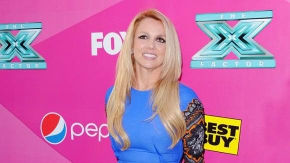 Zpěvačka Britney Spears a její nožky