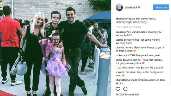 David Boreanaz si nenechal ujít baletní recitál dcery