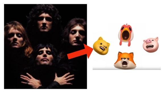 Animoji Rhapsody - nová verze legendární hitovky od Queen