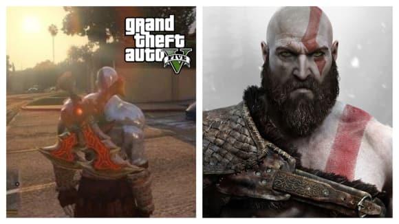 Kratos v GTA V