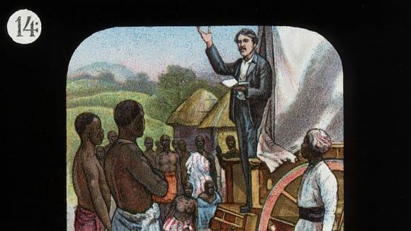 misionář Livingstone