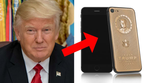 Trumpův telefon má jedinou aplikaci