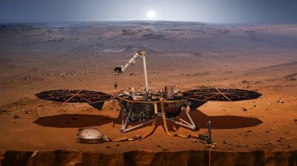 Jsme na Marsu