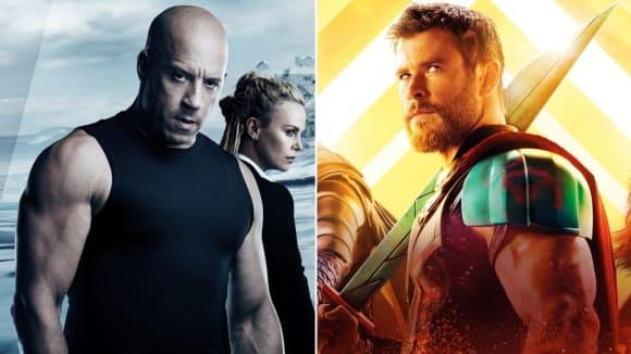 Rychle a zběsile 8 a Thor: Ragnarok