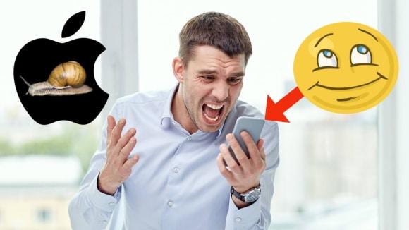 Apple přiznal, že úmyslně zpomaluje starší iPhony