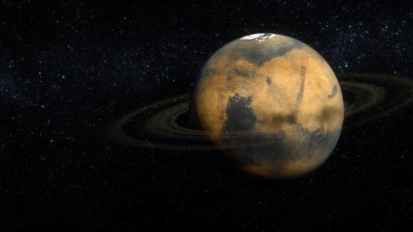 Mars je jakýmsi dvojčetem Země - po zániku Phobosu za 50 milionů let se ale bude podobat spíše Saturnu