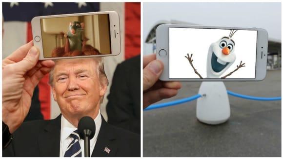 Co všechno lze vidět skrze displej telefonu...