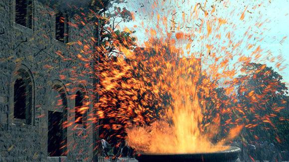 Záběry z filmu Nebezpečná sopka
