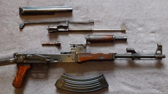 Rozložená klasika AK47