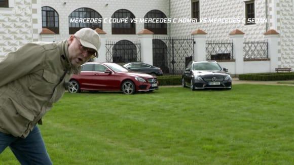 Mercedes C coupé vs kombi vs sedan