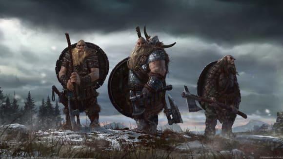 Vikingové na dobytém území