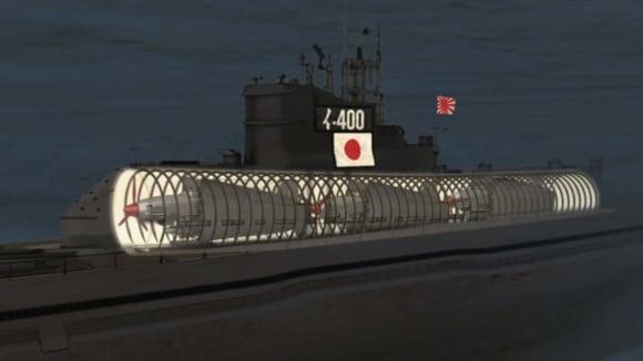 Japonská tajná zbraň - ponorka se třemi bombardéry