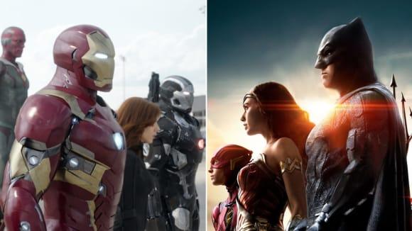 Avengers a Liga spravedlnosti