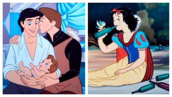 Disneyho pohádky v současnosti