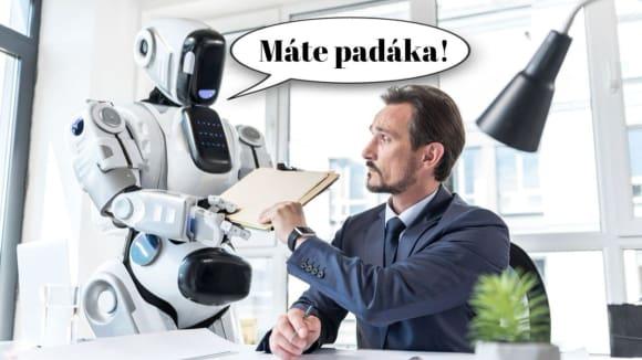 Přichází roboti!