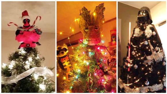 Vyzdobte si vánoční stromek v geekovském stylu!