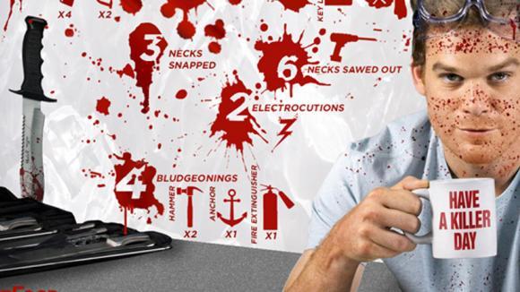 Některé Dexterovy dny jsou poněkud krvavé... :)