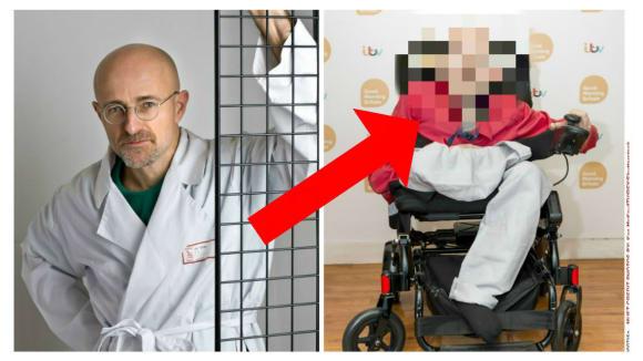 Sergio Canavero a první dobrovolník na transplantaci, který si nakonec zákrok rozmyslel.