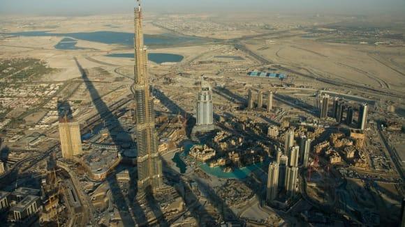 Staveniště nejvyšší budovy světa