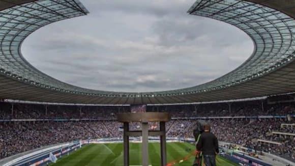 Olympijský stadion v Berlíně, domov bundesligové Herthy