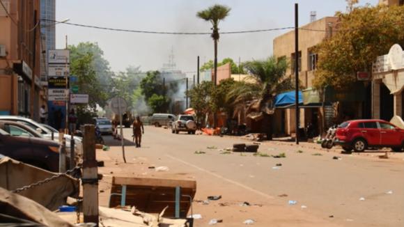 Teroristický útok v Burkině Faso