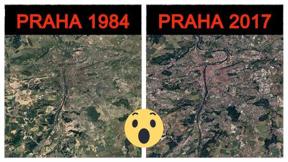 A jak se změnilo vaše město nebo oblíbené místo za posledních 32 let?