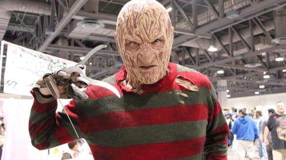 Freddy Krueger z Noční můry v Elm Street pleť v pořádku rozhodně nemá.
