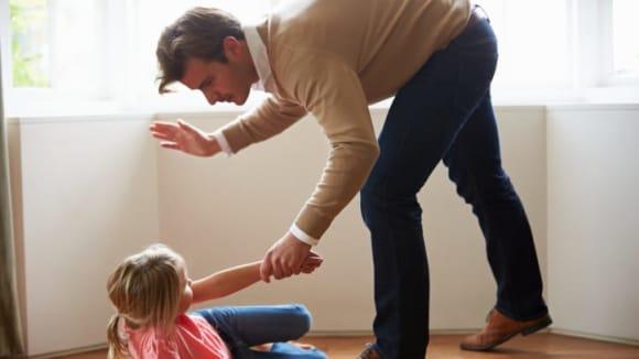 Tělesné tresty na dětech