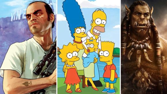 GTA, Simpsonovi a Warcraft