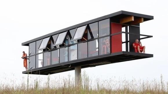 Dům se dokáže otočit o 360 °C