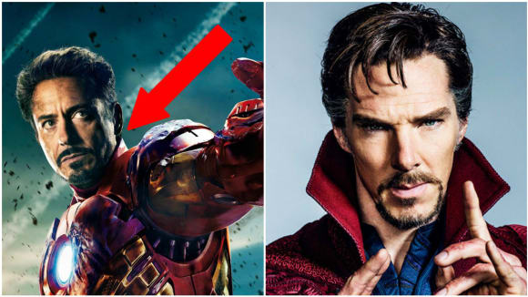 Robert Downey Jr a Benedict Cumberbatch