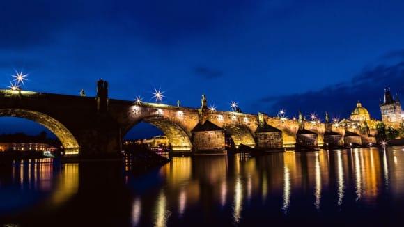 Karlův most v podvečer