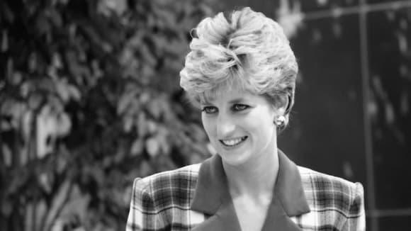 Lady Diana v roce 1992