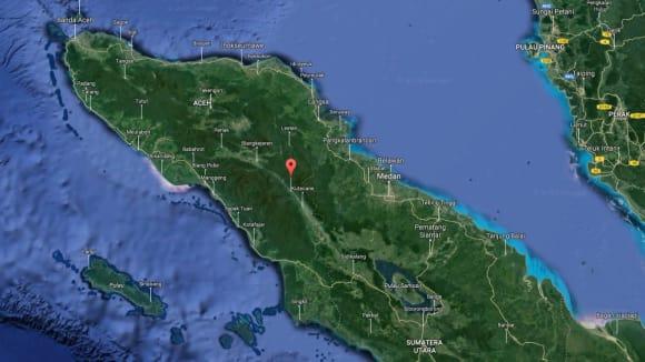 Ekosystém Leuser na Sumatře tvoří dva horské masivy oddělené výrazným údolím