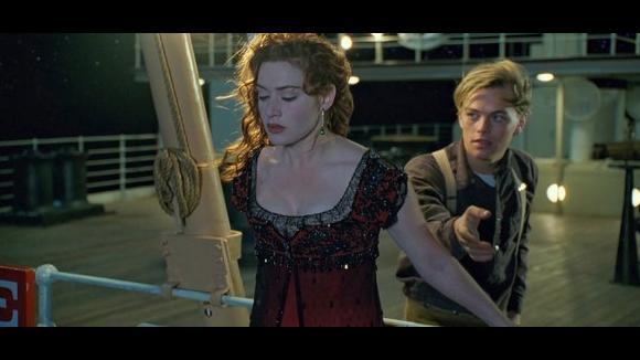 Titanic. Rose a Jack