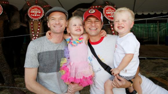 Neil Patrick Harris:jeho rodina