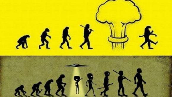 Evoluce vtipně