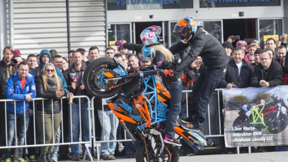 Brněnské výstaviště přivítá od 8. do 11. března všechny motorkářské nadšence.