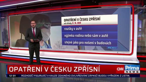 Zprávy 20.10.2020 12:00