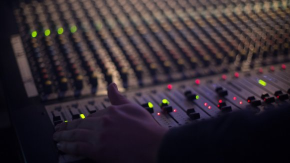 rádio, mixpult, rádiová stanice