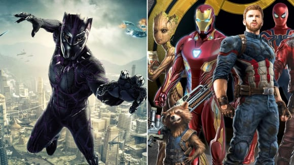 Black Panther a Avengers: Infinity War