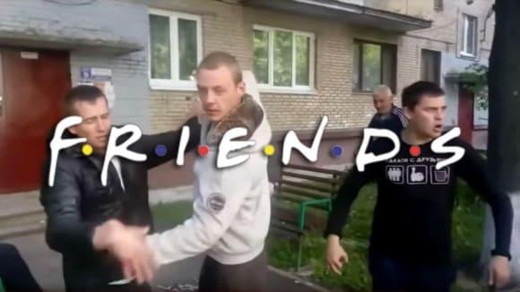 Blyats - ruská verze znělky seriálu Přátelé