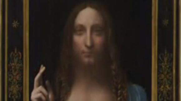 Za necelých 10 miliard korun se vydražil da Vinciho obraz zobrazující Ježíše Krista