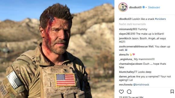 David Boreanaz v novém seriál SEALs Team