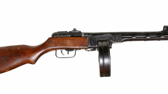 Proslavený sovětský samopal PPŠ-41 Špagin