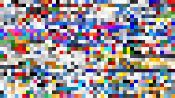 Takhle vypadá barevné spektrum deseti největších stránek na internetu