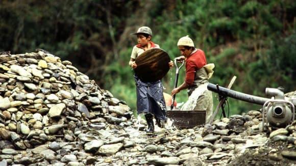 dětská práce v Ekvádoru
