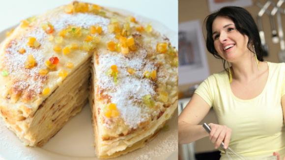 Palačinkový dort podle Markéty