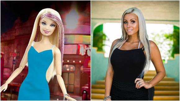 Připadá vám, že je nově příchozí Sandy podobná panence Barbie?